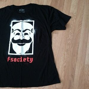 """Men's Loot Crate Exclusive """"fsociety"""" XL"""